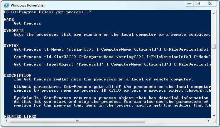 Get-Process -?